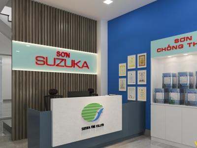 Mở đại lý sơn Giải pháp SUZUKA nhập khẩu từ Nhật Bản