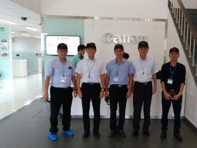 Tổng giám đốc nhà máy sơn Suzuka Nhật bản thăm và làm việc với JV-SYSTEM